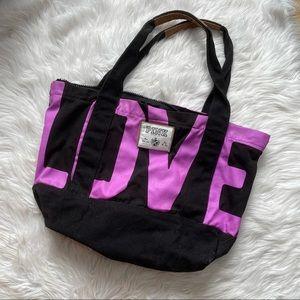 Victorias Secret PINK | Black & Purple Duffle 2011